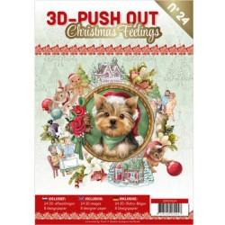 (3DPO10024)3D Push Out boek 24 - Christmas Feelings