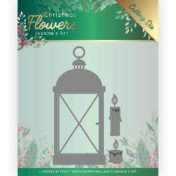 (JAD10104)Dies - Jeanine's Art – Christmas Flowers - Christmas Lantern