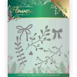 (JAD10106)Dies - Jeanine's Art – Christmas Flowers - Mistletoe