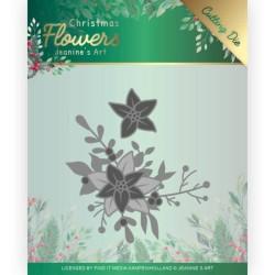 Dies - Jeanine's Art – Christmas Flowers - Poinsettia Corner