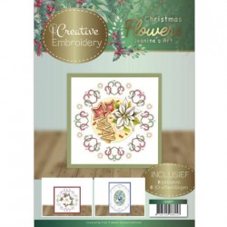 (CB10017)Creative Embroidery 17 - Jeanine's Art – Christmas Flowers