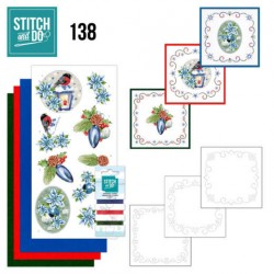 (STDO138)Stitch and Do 138 - Jeanine's Art - Christmas Flowers - Christmas Lantern