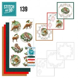 (STDO139)Stitch and Do 139 - Amy Design - Christmas Animals