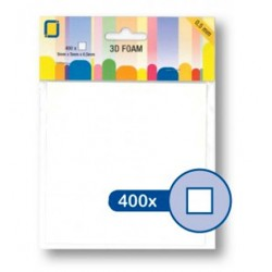 (3.3105)3D Foam Squares 400pcs / 5 x 5 x 0,5mm