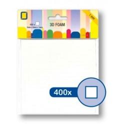 (3.3110)3D Foam Squares 400pcs / 5 x 5 x 1mm