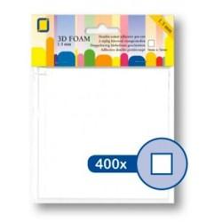 (3.3115)3D Foam Squares 400pcs / 5 x 5 x 1,5mm