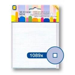 (3.3095)3D Foam Squares mini 1089pcs / 3 x 3 x 1mm