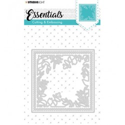 (STENCILSL316)Studio Light Cutting and Embossing Die, Card Shape Essentials, nr.316