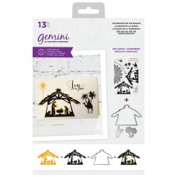 (GEM-STD-TRFT)Gemini The Reason for the Season Stamp & Die