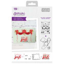 (GEM-STD-DGAR)Gemini Decorative Garland Stamp & Die