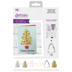 (GEM-STD-DECT)Gemini Decorate The Tree Stamp & Die