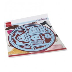 (LR0677)Creatables Circle Lay-Out