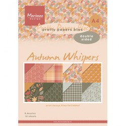 (PB7059)Pretty Papers bloc A4 Eline's Autumn Whispers