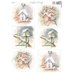 (MB0188)3D Mattie's Mooiste Birdhouses