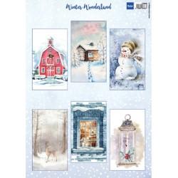 (VK9590)3D Winter Wonderland