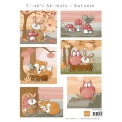 (AK0080)Eline's Animals Autumn
