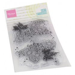 (MM1633)Art stamps Chrysant