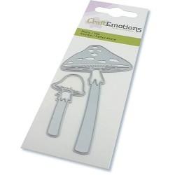 (115633/0275)CraftEmotions Die - Long-stemmed mushrooms