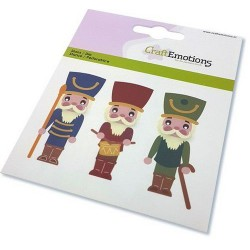 (115633/0833)CraftEmotions Die - Christmas - nutcracker soldier
