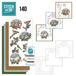 (STDO140)Stitch and Do 140 - Amy Design - Nostalgic Christmas - Christmas Birds