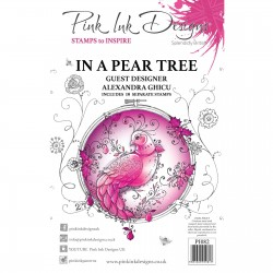 (PI082)Pink Ink Designs Clear stamp In a pear tree