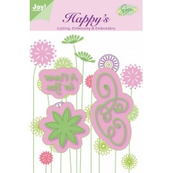 (6002/1103)C&E&E stencil A Flower for You (6002/1103)