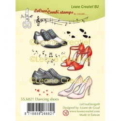 (55.6821)Clear Stamp combi Dancing shoes