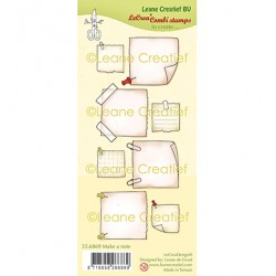 (55.6869)Clear Stamp combi Make a note