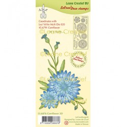 (55.6876)Clear Stamp combi Cornflower 3D