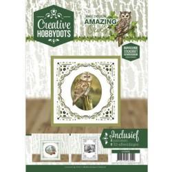 (CH10006)Creative Hobbydots 6 - Amy Design - Amazing Owls