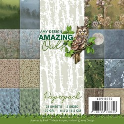 (ADPP10035)Paperpack - Amy Design - Amazing Owls