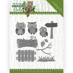 (ADD10217)Dies - Amy Design - Amazing Owls - Owl Family