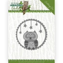 (ADD10219)Dies - Amy Design - Amazing Owls - Night Owl