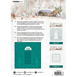 (EMBWC07)Studio Light Cutting and Embossing Die Cut , Winter Charm, nr.07
