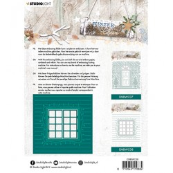(EMBWC08)Studio Light Cutting and Embossing Die Cut , Winter Charm, nr.08