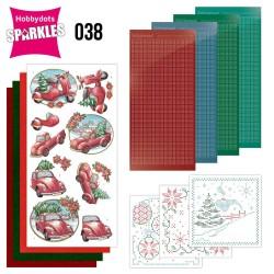 (SPDO038)Sparkles Set 38 - Yvonne Creations - Christmas Village - Christmas Transportation