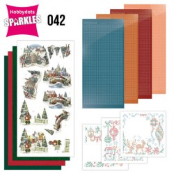 (SPDO042)Sparkles Set 42 - Amy Design - Nostalgic Christmas - Christmas Village
