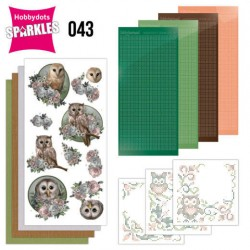 (SPDO043)Sparkles Set 43 - Amy Design - Amazing Owls - Romantic Owls