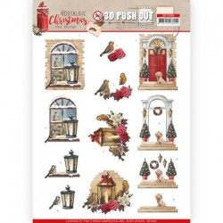 (SB10484)3D Push Out - Amy Design - Nostalgic Christmas - Warm Christmas