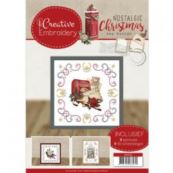 (CB10018)Creative Embroidery 18 - Amy Design - Nostalgic Christmas