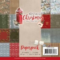 (ADPP10036)Paperpack - Amy Design - Nostalgic Christmas
