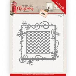 (ADD10221)Dies - Amy Design - Nostalgic Christmas - Snowflake Frame