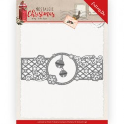 (ADD10223)Dies - Amy Design - Nostalgic Christmas - Christmas Bells Border