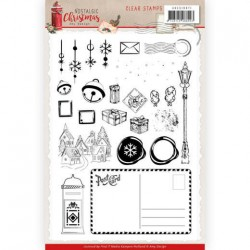 (ADCS10071)Clear Stamps - Amy Design - Nostalgic Christmas