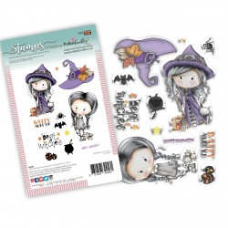 (PD8088)Polkadoodles Best Witches Clear Stamps
