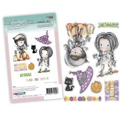 (PD8089)Polkadoodles Boneshakin Halloween Clear Stamps