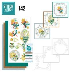 (STDO142)Stitch and Do 142 - Jeanine's Art - Christmas Baubles
