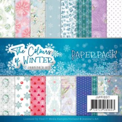 (JAPP10017)Paperpack - Jeanine's Art - The colours of winter