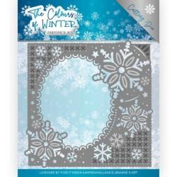 (JAD10108)Dies - Jeanine's Art - The colours of winter - Winter Frame