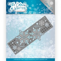 (JAD10110)Dies - Jeanine's Art - The colours of winter - Winter Border